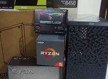 كمبيوتر ألعاب وتصميم ريزن 5