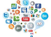 نقوم بإدارة حسابات السوشيال ميديا وزيادة المتابعين مع التسويق الكتروني والتصاميم بإحترافية عالية