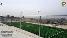 تجهيز ملاعب كرة قدم بالعشب الصناعي