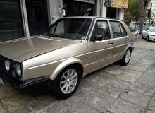 Volkswagen Golf car for sale 1985 in Amman city