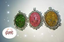 Glitter & Rose for necklaces