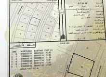 أرض سكنية للبيع في الدقم مخطط 54