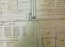 ارض للبيع في ولاية البريمي موقعها حلو خلف سوق التنين حي نفحات المرحله الأولى