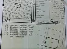 للبيع شبك كورنر+ اللي جنبها المساحة 1222متر ملاصقة استراحة جاهزة ولاية المصنعة النهضة جنوب