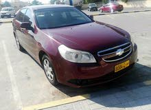 Chevrolet Epica 2008 For sale - Red color