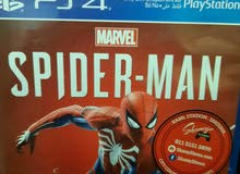 لعبة spider man ps4