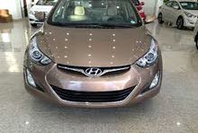 Renting Hyundai cars, Elantra 2016 for rent in Amman city