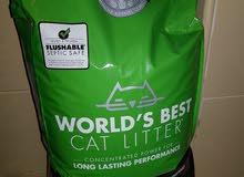 litter for cats 12 kgs رمل للقطط