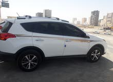 Automatic White Toyota 2015 for rent
