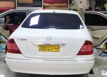 للبيع او للبدل مرسيدس بنز S500 موديل 2004 يحتاج قير
