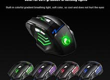 X7 USB Wired Professional Gaming Mouse Black