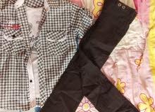 بنطلون +بلوزة و قميص