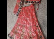فستان جميل وايد موديل هندي800