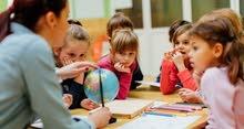 تدريس مادتي الانجليزي والرياضيات للطلاب من الصف الأول وحتى الصف السادس