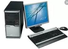 كمبيوترات امريكيه كامله فقط ب 55 دينار
