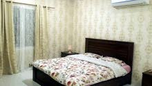 للايجار شقه مفروشه 4 غرف نوم 470 دينار بالكهرباء