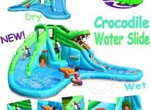 لعبة النفخ هابي هوب المائية التمساح