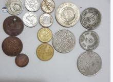 عملات معدنية وورقية قديمة للبيع