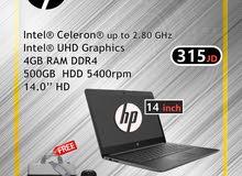 hp laptop 14 inch  لطلاب المدارس