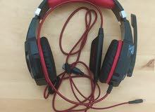 سماعة جديدة.           new headset for gaming
