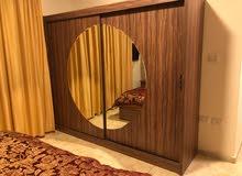 ( 5327 ) للبيع او  الإيجار شقة سوبر ديلوكس فارغة او مفروشة في منطقة ضاحية النخيل 2 نوم مساحة 120