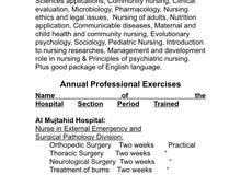ممرضة Nurse looking for job in Jeddah