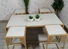 طاولة ضيافة حديد تفصيل