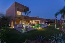 فيلا فخمة 4 غرف للايجار اليومي مراكش
