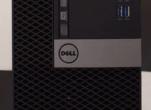 DELL OPTPLEX 7040 MINE TOWER رمات : 16 جيجا DDR4 هارد : 1000 جيجا