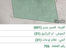 ارض بالكرك 11،895 دولم للبيع