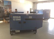 مولد SDMO 33 KVA  فرنسوي مستعمل 800 ساعة فقط