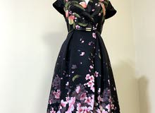 New and worn only once dresses and abaya