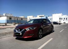 Nissan Maxima 2016 (Red)