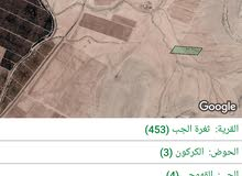 أرض للبيع في المفرق ثغرة الجب المساحه 6700 متر