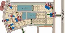 للبيع بالمستثمر الصغير ارض ناصية مساحة 920 متر بها رخصة 3 شقق بالدور