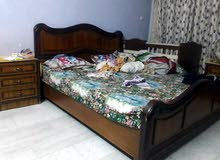 غرفة نوم تفصال عراقي+ طخم قنفات تفصال