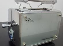 مكينة توستر (ستانلس ستيل وزجاج )