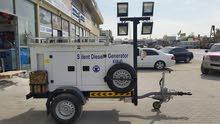 مولد جديد مع عربانة 40KVa new generator with a cart
