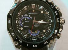 casio edifice red bull ef 550 rps original with warranty and operations guide