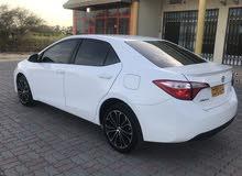White Toyota Corolla 2016 for sale