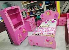 غرفة نوم اطفال بحاله جيده للبيع