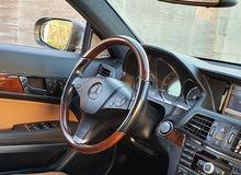 Mercedes E550 coupe 2010