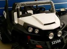 سيارة اطفال جديدة  نوعية جيمس  تتسع لطفلان...محركين...وبطاريه كبيره 12 فولط تحكم