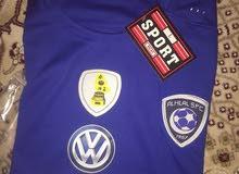 T-shirt لبسة نادي الهلال السعودي كامله