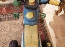 موتوسيكل بثلاث عجلات ببدال جديد