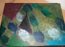 لوحة رسم بالوان تداخل