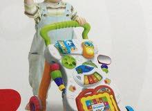 مشاية الاطفال المتكاملهتعلم الطفل على المشي و فيها سبوره وقلم وفيها موسيقى