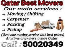 Moving, packing, carpenter, pickup service.