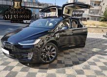 فقط وحصريا لدى الجالودي لتأجيرالسيارات TESLA X MODEL 2020 BLACK