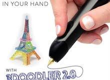 أول قلم للرسم ثلاثي الابعاد